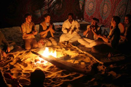 Music campfire