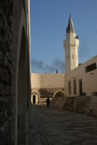 Fort interior with mosque tower