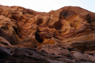 Colored Canyon Wall