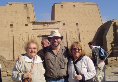 Edfu with the gals