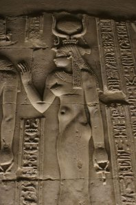 Kom Ombo Hathor relief