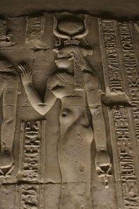 Kom Ombo Hathor relief