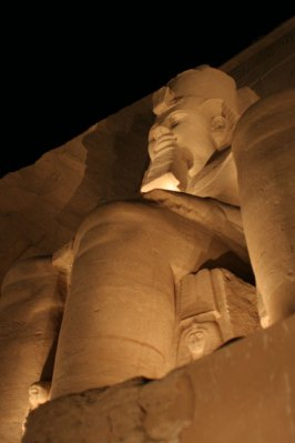 Rameses Low Angle Abu Simbel
