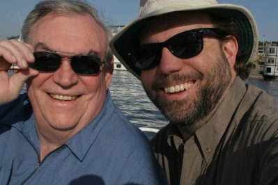 Me and Dad on the Nile