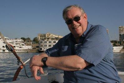 Dad Posing on Felucca