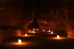Petra at night 2