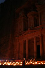 Petra at night 6
