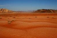 Wadi Rum Red sand