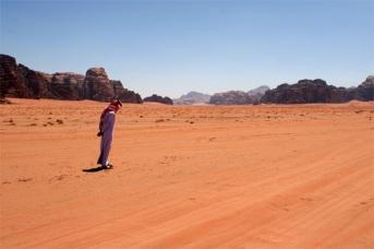 Zedan on sand