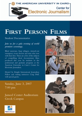 First Person Films Poster