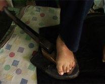 foot ironer