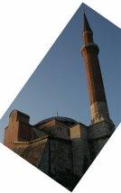 tilted minarets