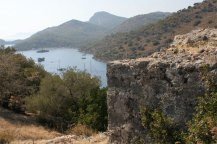 fethiye view from hilltop