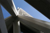 Transamerica tower abstract
