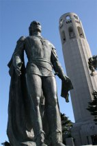 Columbus and Coit Tower