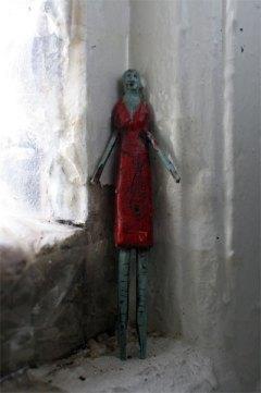 little doll in thewindow