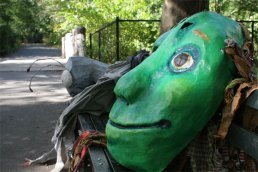 Masks in Prospect park