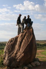 Livingstone Rock in Burundi
