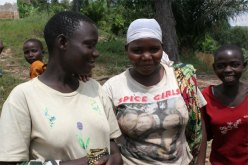 Burera woman with Spice girls tshirt