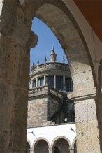 chapel rotunda through arch