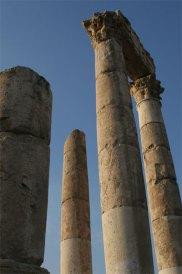 Temple of Hercules at Jebel Al-Qala Amman Jordan