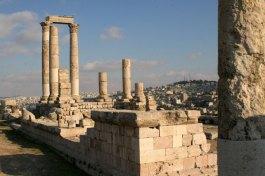 Hercules Temple Jebel Al-Qala Amman Wide shot