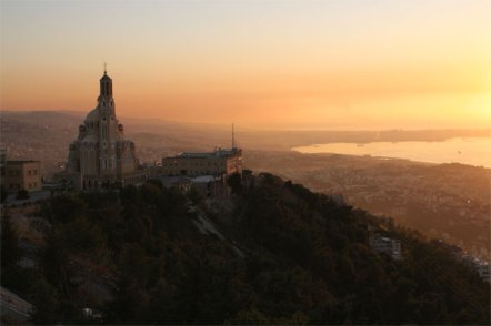 Sunset from Harissa