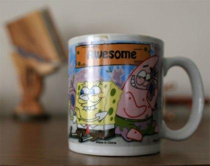 Sponge Bob mug
