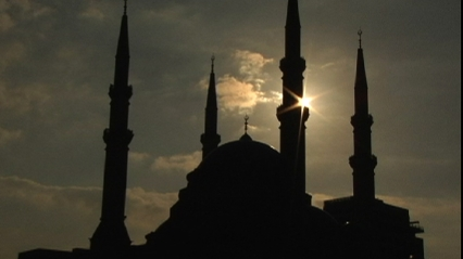 mosque in Beirut framegrab