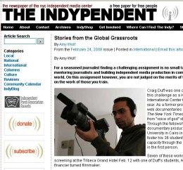 indypendent screen shot