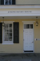 Joseph Henry House door