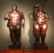 Adam and Eve Botero