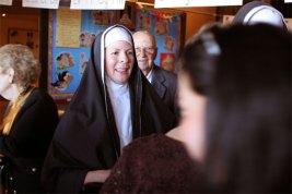 Melodie as Sister Robert Anne