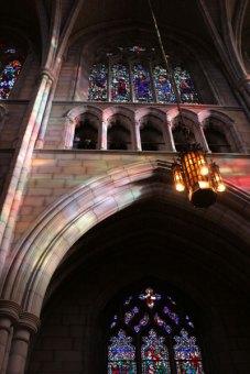 Princeton chapel rainbow