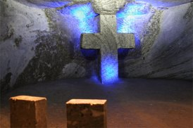 Cross station salt cathedral