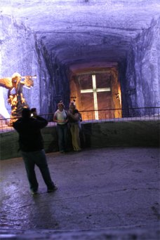 Salt cathedral nave of life
