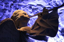 Angel salt cathedral