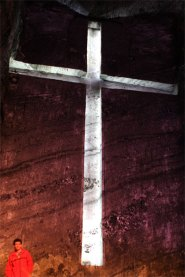 Salt Cathedral cross