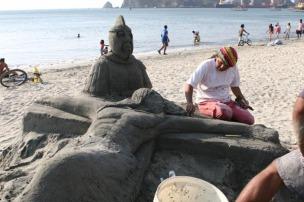 Santa Marta Jesus in Sand