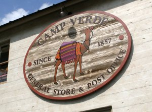 camp verde general store sign