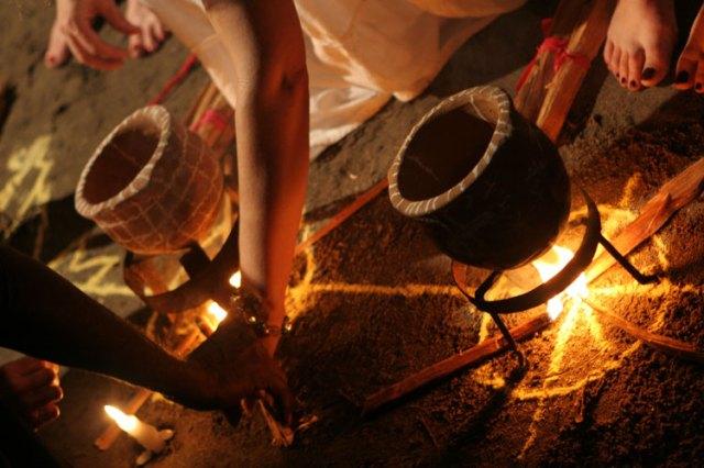 voodoo fire pots horizontal