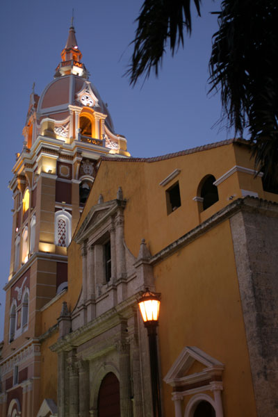 Catedral en Cartagena
