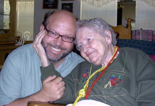 Aunt Ruth Brooks and Craig Duff