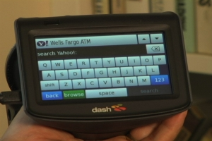 The DASH in-car GPS