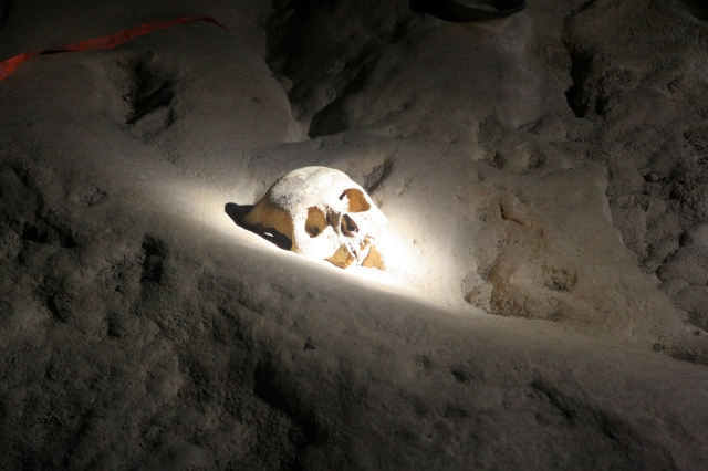 Actun Tunichil Muknal skull