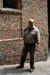 Queasy at the gum wall